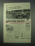 1953 Du Pont Anti-Rust and Water Pump Lubricant Ad