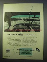 1952 Libbey Owens Ford E-Z-Eye Safety Plate Glass Ad