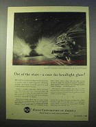 1952 RCA Electron Tube Ad - Cure for Headlight Glare
