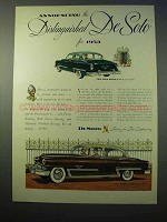 1953 De Soto Fire Dome V-8 Club Coupe Car Ad
