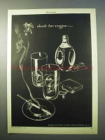 1952 Haig Scotch Ad - Don't Be Vague