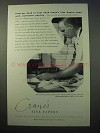 1952 Crane's Fine Papers Ad - From Our Hand To Your