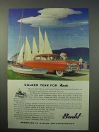1952 Budd Company Ad - Golden Year for Nash