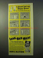 1951 Ken-L-Ration Dog Food Ad - Happy Home