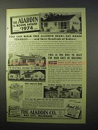 1951 Aladdin Readi-Cut House Ad - Build This Yourself