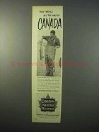 1951 Canadian National Railways Ad - They Batlle