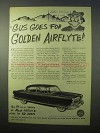 1951 Nash Airflyte Car Ad - Gus Goes Golden - Ed Zern