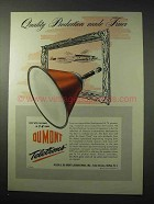 1950 Du Mont Teletron Television Tube Ad - Quality