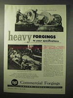 1950 United States Steel Commercial Forgings Ad