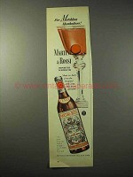 1950 Martini & Rossi Vermouth Ad - Matchless Manhattans