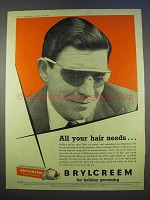 1955 Brylcreem Ad - All Your Hair Needs