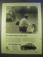 1955 Standard Ten Car Ad - Happiest Days of Lives