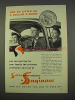 1955 Saginaw Safety Power Steering Ad!