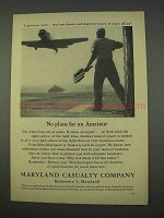 1955 Maryland Casualty Company Ad - No Place