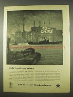 1954 Ford Car Ad - Only Half the Story