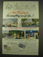 1954 Ford Car Ad - New England Has Everything