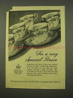 1954 Royal Standard Bone China Ad - Special Person