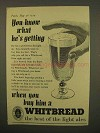 1954 Whitbread Ale Ad - You Know What He's Getting