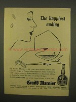 1954 Grand Marnier Liqueur Ad - The Happiest Ending