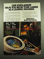 1985 U.S. Army ROTC Ad - Career as a Leading Engineer