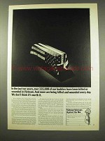 1971 Vietnam Veterans Against the War Ad - More Killed
