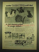 1949 Plastic Wood Ad - Another Craft Idea