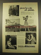 1949 Canadian National Railway Ad - Date with Jasper