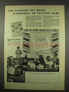 1949 Ivory Soap Ad - Cleanliness an Exciting Game