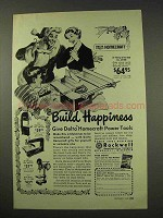 1949 Delta Homecraft Tool Ad - Tilting Arbor Saw 34-500