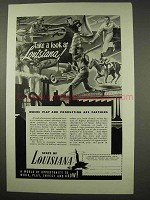 1949 Louisiana Tourism Ad - Play Production Partners