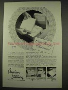 1949 American Stationery Ad - For Christmas
