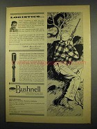 1957 Bushnell ScopeChief Rifle Scope Ad - Logistics