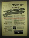 1957 Bausch & Lomb Rifle Scope Ad - Step Up