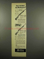 1957 Mossberg 352 Rifle Ad - How in The World?