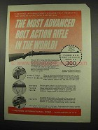 1957 Firearms International Series 300 Rifle Ad