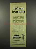 1957 Abbey National Building Society Ad - Safe Haven