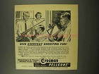 1957 Crosman Pellguns Ad - Everyday Shooting Fun!