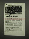 1957 Virginia Tourism Ad - Make This Holiday Historic