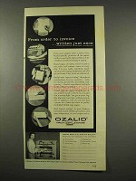 1956 Ozalid Copy Machine Ad - From Order to Invoice
