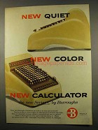 1956 Burroughs Series C Calculator Ad - New Color