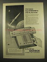 1956 Monroe Monro-Matic Calculator Ad - Automation