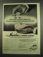 1956 Norelco Model SC7759 Electric Shaver Ad - Modern