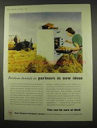 1956 Shell Chemical Ad - Partners in New Ideas