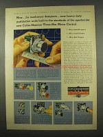 1956 Cutler-Hammer C-H Roto-Push Pushbutton Ad