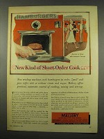 1956 Mallory Electronics Ad - New Short-Order Cook