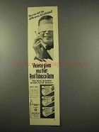 1956 Viceroy Cigarettes Ad - Can Tell Blindfolded