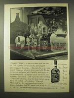 1956 Jack Daniel's Whiskey Ad - Long Retired