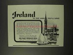 1956 Ireland Tourism Ad - The Land You'll Love