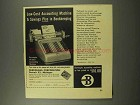 1956 Burroughs Director Accounting Machine Ad