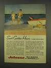 1956 Johnson Sea-Horse Outboard Motor Ad - Golden Hours